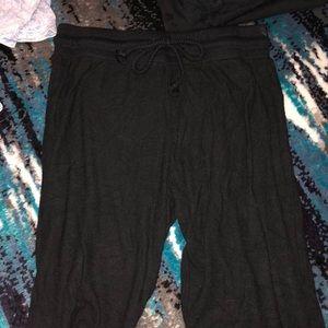 Black super soft sweats